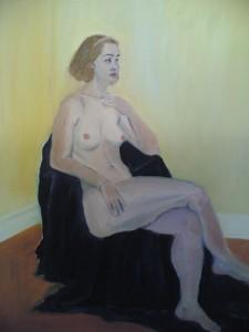 Victoria in the studio